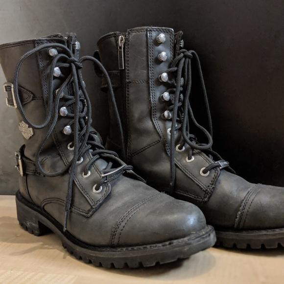 a7af0db2470 Harley Davidson combat boots